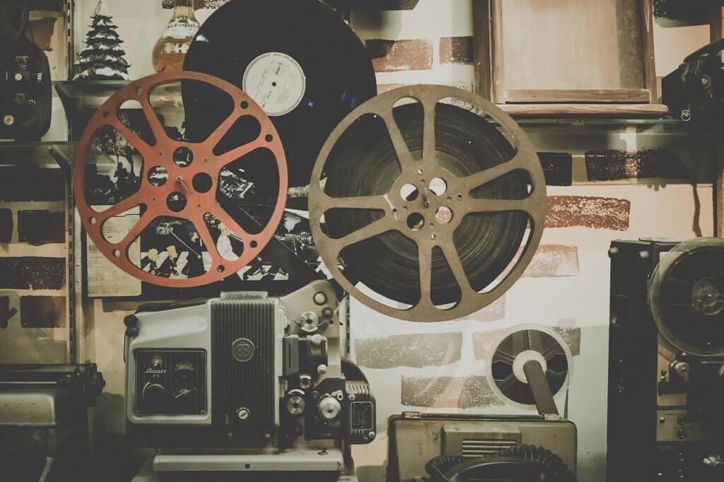 映画館のリール